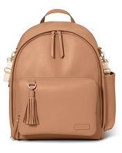 Skip Hop  Greenwich Simply Chic Backpack, Caramel