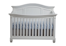 Baby Cache Glendale Crib in Pure White