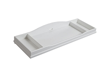 Baby Cache Glendale Changing Topper Pure White