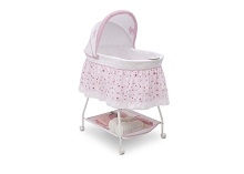 Delta Children Ultimate Sweet Beginnings Bassinet Classic Princess