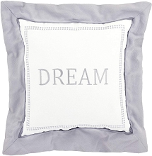 Just Born Dream Collection Throw Pillow  Grey-White