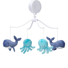 Bedtime Original Whales Tales Musical Mobile