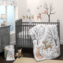 Bedtime Original  Deer Park Woodland 3 Pieces Bedding Crib Set