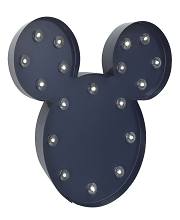 Disney Mickey Mouse Light Up Marquee with 2 Hour Timer