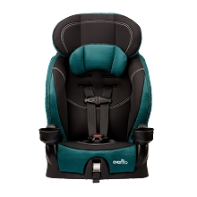 Evenflo Chase Harnessed Booster Car Seat Jubilee