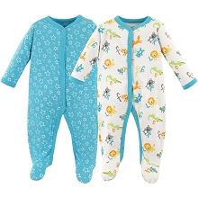 Luvable Friends ABC Sleep'n Play 2 Pack, 0-3 Months