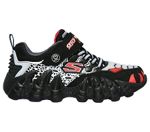 Skechers S Skech-O-Saurus Light Black/Red