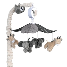 Lambs & Ivy Baby Jungle Musical Mobile
