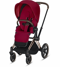 Cybex Mios 2 Stroller Rose Gold Frame with True Red Seat