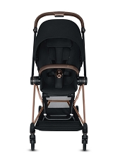 Cybex Mios 2 Rose Gold Frame with Premium Black Seat