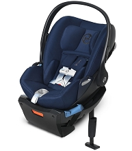 Cybex Infant Car Seat Cloud Q SensorSafe-Midnight Blue