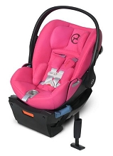 Cybex Infant Car Seat Cloud Q SensorSafe-Passion Pink