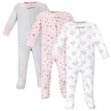 Luvable Friends Sleep and Play 3pk, Cloud 6-9 Months