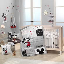 Lambs & Ivy Magical Mickey 3 Pieces Bedding Crib Set