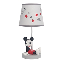 Lambs & Ivy Magical Mickey Mouse Lamp with Shade & Bulb