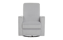 Evolur Raleigh Basic Glider Recliner Grey