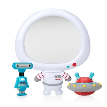 Nuby Awesome Astronaut  Mirror Bath Toy Set