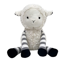 Lambs & Ivy  Little Sheep White/Gray Plush Lamb Stuffed Animal – Ivy