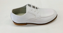 Josmo Communion Dress Shoes Boy, White