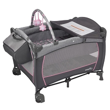 Evenflo Portable BabySuite DLX Playard Poppy