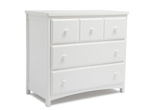 Delta Children 3 Drawer Dresser White