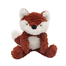 Lambs & Ivy Into the Woods Orange/White Plush Fox – Chestnut