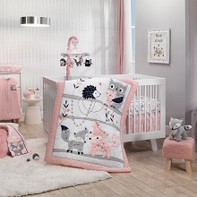 Lambs & Ivy Forever Friends Bedding Crib Set 4-Pieces