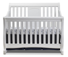 Sorelle Montgomery 4 in 1 Convertible Crib White