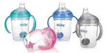 Nuby No Spill 360o Grip N' Sip 1st Sipeez Cup 4M+