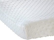 Crown Craft Carter's Cotton Changing Pad Cover Ecru