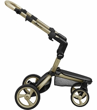 Mima Kids Xari Stroller Chassis (Only) Gold