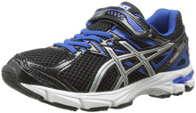 Asics 60% Off GT 1000 3 PS Running Shoe  - Black/Lightning/Royal - Wide Width