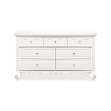 Franklin & Ben Mirabelle 7 Drawer Dresser in Warm White