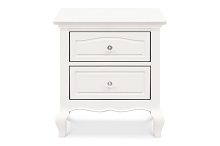 Franklin & Ben Mirabelle Nightstand in Warm White