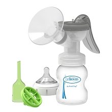 Dr. Brown's Manual Breast Pump with SoftShape™ Silicone Shield