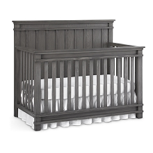 Dolce Babi Bocca Full Panel Convertible Crib Marina Grey