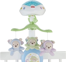Fisher Price Butterfly Dreams 3-in-1 Projection Non-Le Mobile