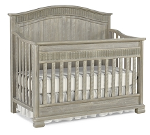 Dolce Baby Florenza Full Panel Convertion Crib Dove Grey