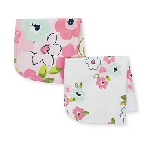 Just Born® Blossom 10 Pack Washcloths Pink