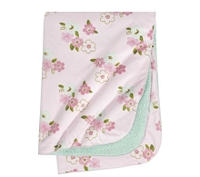 Just Born® One World Collection Plush Blanket Blossom