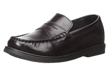 Florsheim Croquet Penny Loafer Boy Shoes Burgundy
