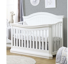 Sorelle Vista Elite Supreme Convertible Crib 4-in-1, White