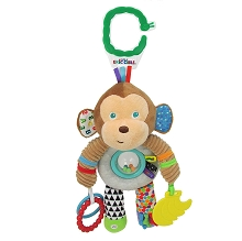 Kids Preferred The World of Eric Carle Developmental Activity Toy, Monkey