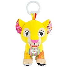 Lamaze  Disney Lion King Clip & Go – Nala Baby Toy