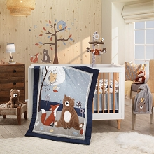 Lambs & Ivy Sierra Sky Bedding Crib Set 3 Pieces