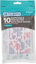 Dr Talbot's 10 Pieces Girl Mask 6-12 Years