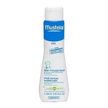 Mustela Multi Sensory Bubble Bath 6.76 Ounce