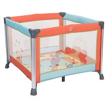 Baby Trend Kid Cube Playard Peek-A-Boo Pal