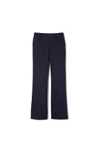 French Toast 50% School Uniform Girl Pull on Pants, Navy