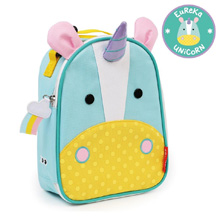 Skip Hop Zoo Lunchie Insulated Kids Lunch Bag, Unicorn